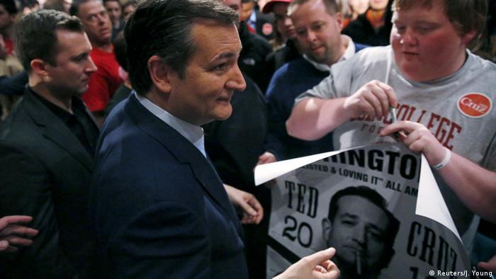 Wisconsin Milwaukee Ted Cruz Vorwahlen