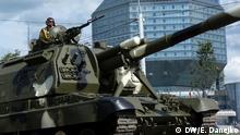 Weißrussland Militärparade in Minsk