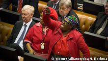 Südafrika Parlament Debatte Amtsenthebung Jacob Zuma