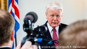 Olafur Ragnar Grimsson Island Präsident
