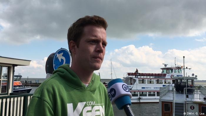 Youtube activist René van Leeuwen