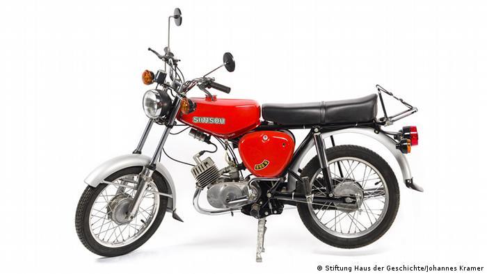 Motorbike S50. Coypright: Stiftung Haus der Geschichte / Johannes Kramer
