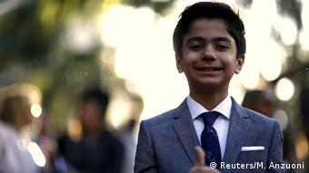 Neel Sethi at Jungle Book premiere in Hollywood, Copyright: Reuters/M. Anzuoni