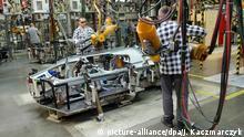 Polen Volkswagen Fabrik in Posen