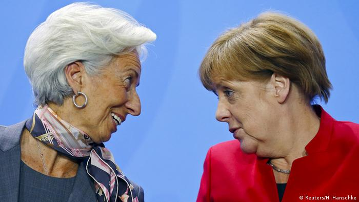 Angela Merkel și Christine Lagarde