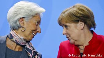 To ελληνικό ζήτημα θα βρεθεί στην κορυφή της ατζέντας στην αυριανή συνάντηση Μέρκελ-Λαγκάρντ στο Βερολίνο