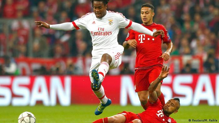 UEFA Champions League - Bayern München vs. Benfica Lissabon