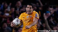 UEFA Champions League FC Barcelona vs. Atletico Madrid Luis Suarez