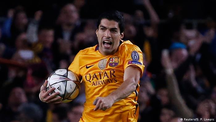 UEFA Champions League FC Barcelona vs. Atletico Madrid Luis Suarez