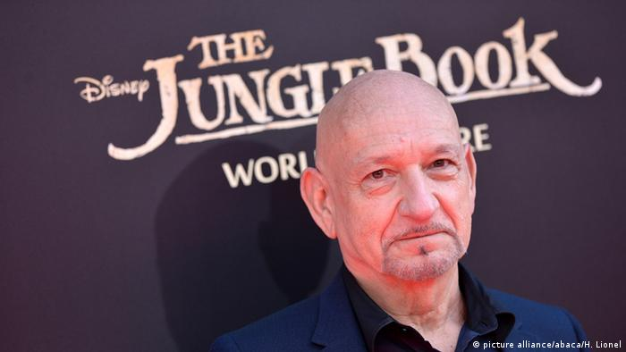 Ben Kingsley bei der Hollywoodpremiere The Jungle Book. © 2015 Disney Enterprises