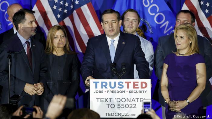 US Vorwahlen Präsidentschaftskandidat Ted Cruz
