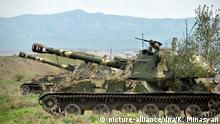 Berg-Karabach Panzer bei Hadrut