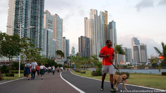 Panama Balboa Avenue in Panama City
