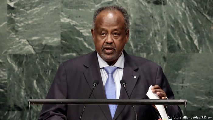 Dschibuti Ismael Omar Guelleh Präsident, Copyright: picture-alliance/dpa/R.Drew