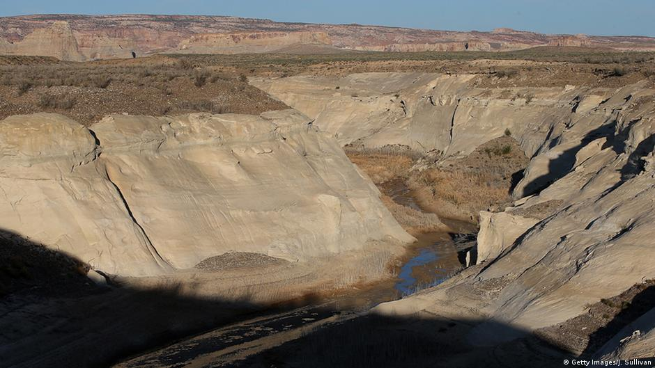 A severe drought in March 2015 led to a below-average amount of water flowing through the Colorado River Basin