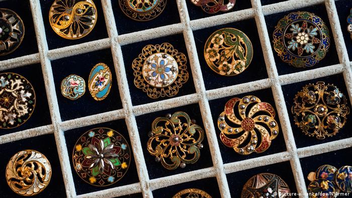 Пуговицы из уникальной баварской коллекции