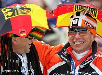 都灵冬奥会上的德国观众