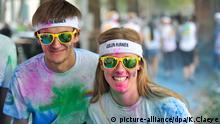 Colour Run in Brüssel Belgien