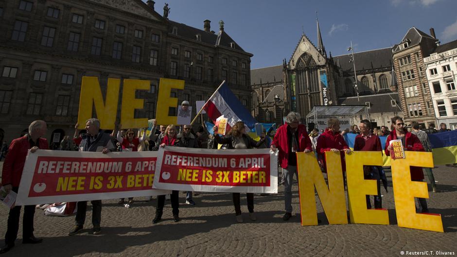Комментарий: Референдум в Нидерландах - обман избирателей   Мнения   DW   07.04.2016