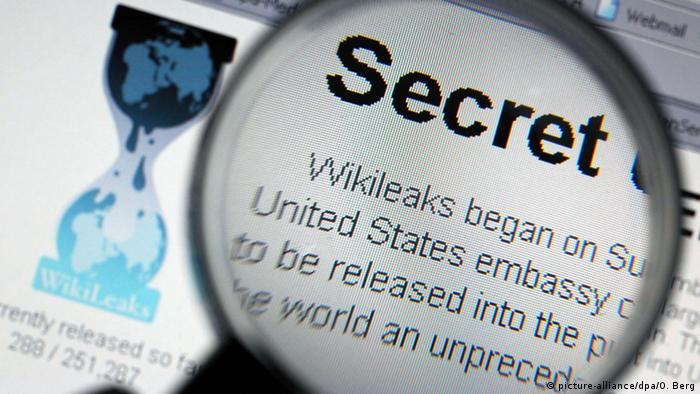 Wikileaks (picture-alliance/dpa/O. Berg)