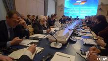Treffens von Abgeordneten des deutschen Bundestags und der russischen Duma