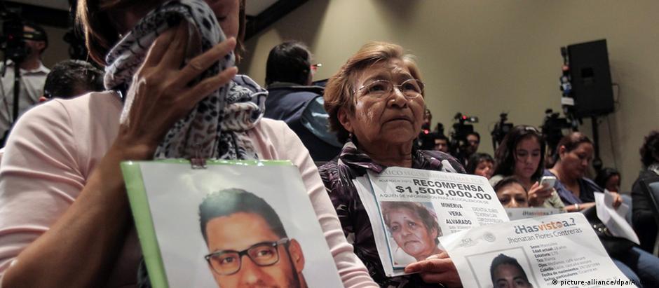 Familiares dos estudantes desaparecidos exigem Justiça
