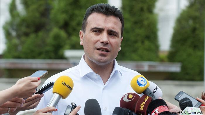 Mazedonien Zoran Zaev (Getty Images/AFP/R. Atanosovski)