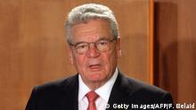 Deutschland Joachim Gauck Staatspräsident Symbolbild