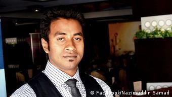 Nazimuddin Samad, who was killed last night in Dhaka, the capital of Bangladesh