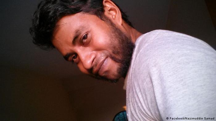 Bangladesch Aktivist Nazimuddin Samad