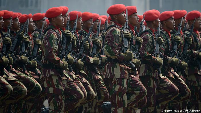 Special Army Forces Indonesien Kopassus Jakarta (Getty Images/AFP/A.Berry)
