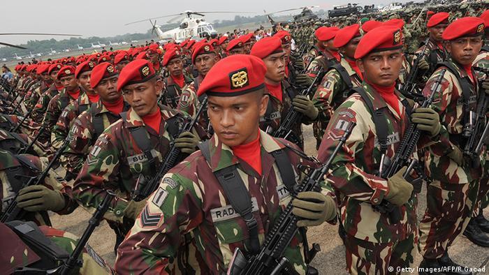 Special Army Forces Indonesien Kopassus Jakarta