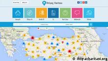 ***Screenshot darf nur in Zusammenhang mit einer Berichterstattung über die Webseite verwendet werden*** http://www.ihtiyacharitasi.org/