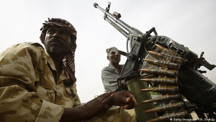 Sudan Darfur Konflikt Soldaten (Getty Images/AFP/A. Shazly)