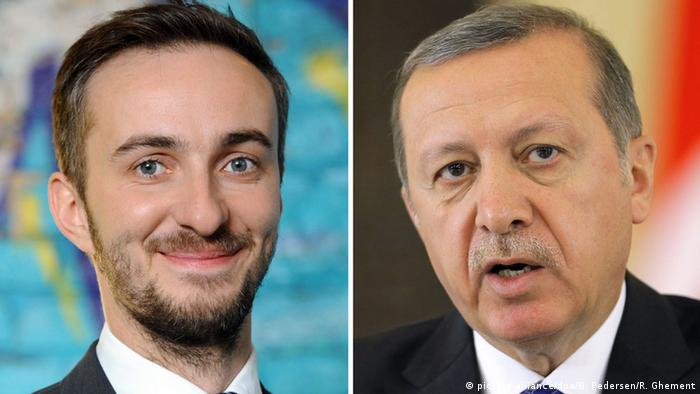 Jan Böhmermann, Recep Tayyip Erdogan Copright: picture-alliance/dpa/B. Pedersen/R. Ghement