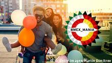 04.2016 MEX_MANIA Teaserbild Junge Menschen Luftballons