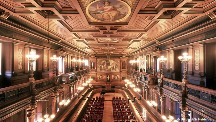 Deutschland Alte Aula der Universität Heidelberg