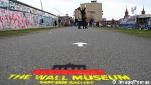 Deutschland The Wall Museum East Side Gallery in Berlin