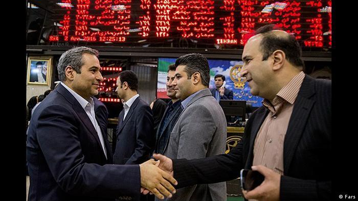 Iran Wochengalerie KW 14 Börse (Fars)