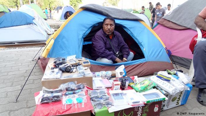 Griechenland Flüchtlinge im Flüchtlingslager in Idomeni
