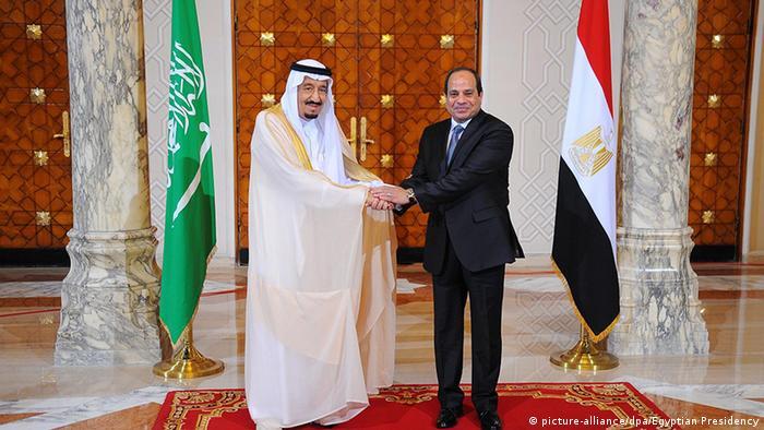 Abdel Fattah al-Sisi King Salman Saudi Arabien Kairo Ägypten