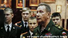 Russland Kommandeur Viktor Zolotow in Moskau