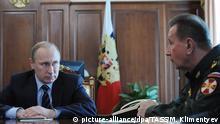 Russland Wladimir Putin und Viktor Zolotow in Moskau