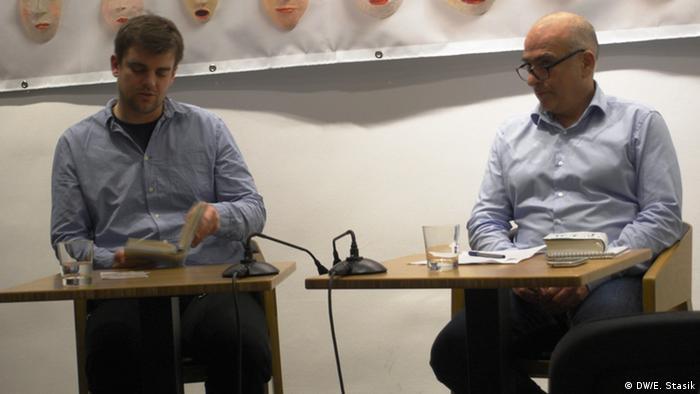 Matthias Nawrat und Andreas Fanizadeh