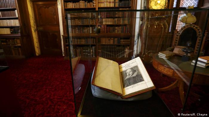 Encontrado exemplar raro de Shakespeare, Primeiro Fólio
