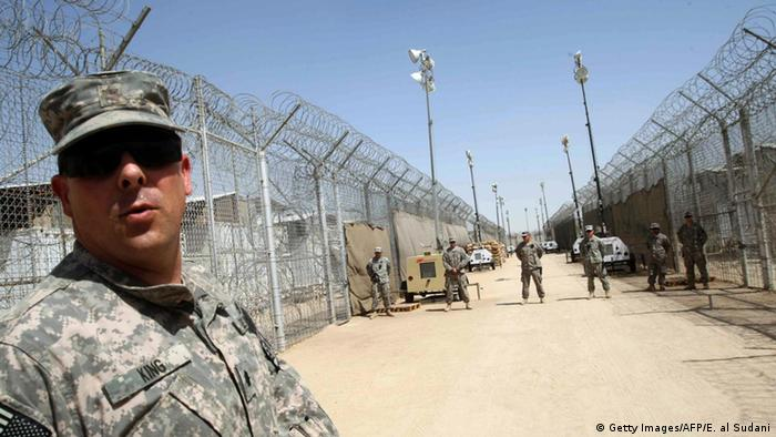 Irak US-Gefängnis in Bucca