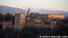 Spanien Alhambra in Granada