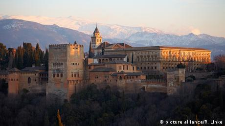 Spain Alhambra in Granada, Copyright: picture-alliance/R. Linke