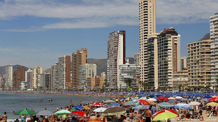 Spanien Strand in Alicante (picture alliance/dpa/M. Lorenzo)
