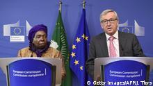 Symbolbild Jean-Claude Juncker und Nkosazana Dlamini-Zuma